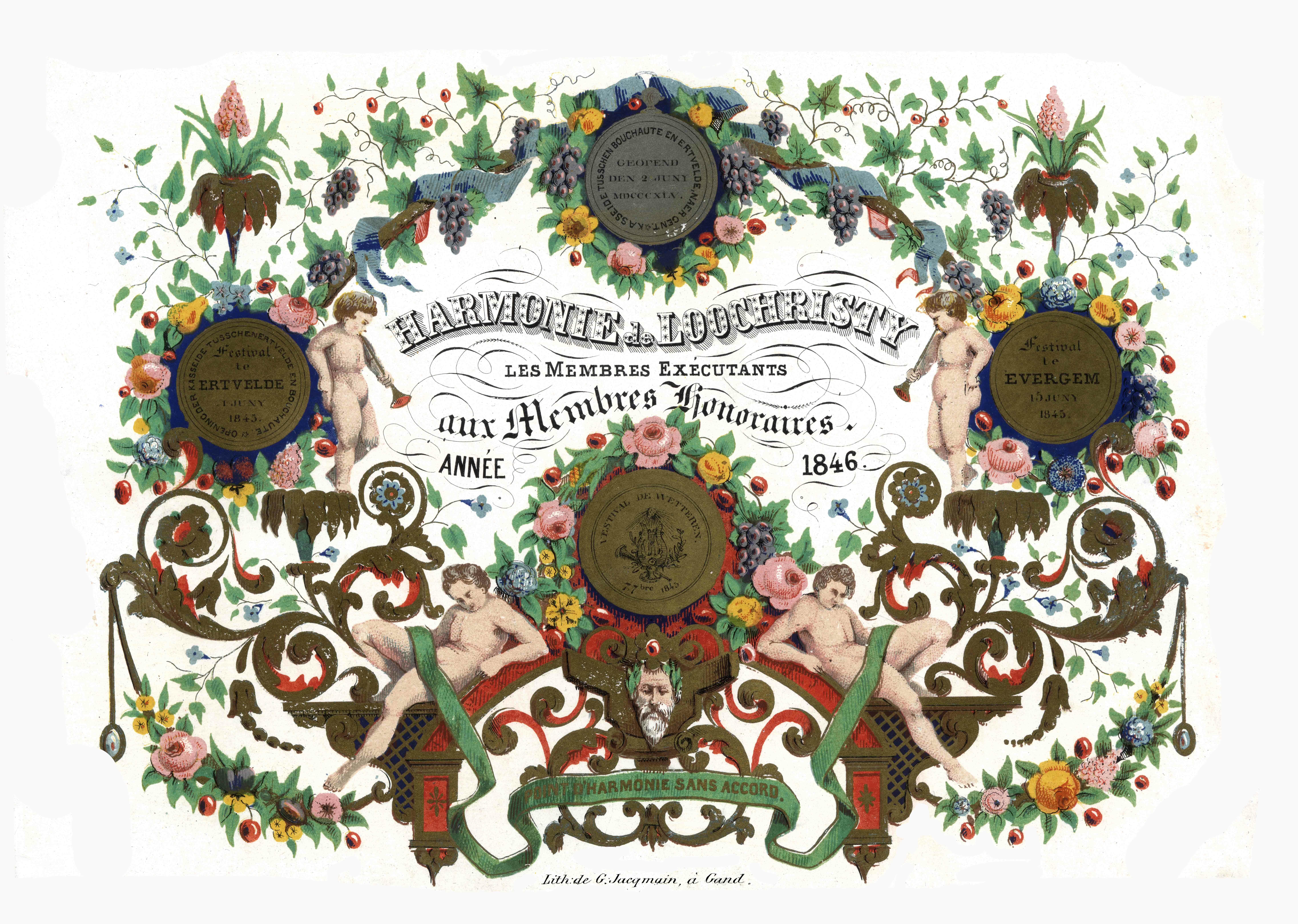 © Erfgoedbank Land van Rode- Collectie Koninklijke Harmonie Willen is Kunnen Lochristi