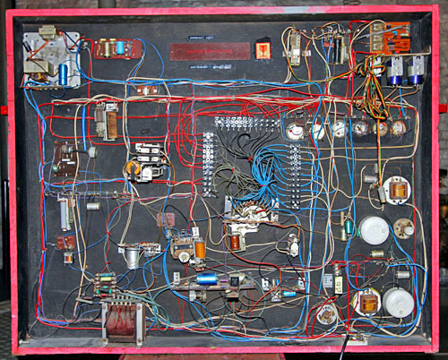 Het elektronisch circuit van Het Bellenorgel (1970-72)